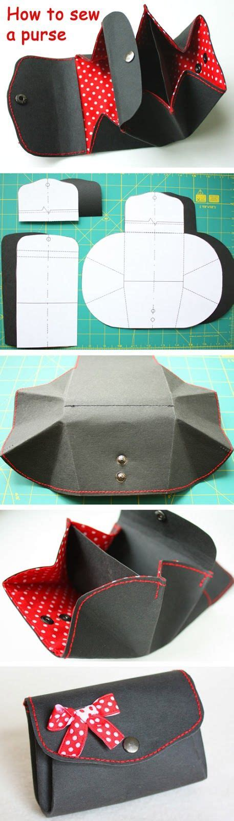 How To Make A Paper Coin Pouch - coin purses diy tutorial and coins on