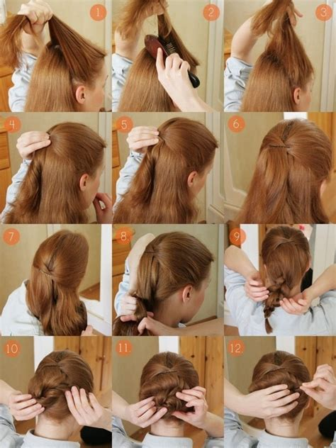 how to do a bun with a decorative comb messy dressy up do 183 how to style an updo hairstyle