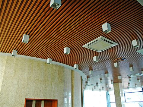 Composite Wood Ceiling by Eco Wood Ceiling Wpc Decking Supplier Composite Decking