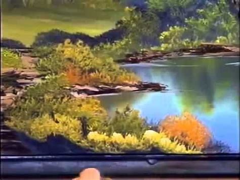 bob ross painting lake lakes watches and paintings on