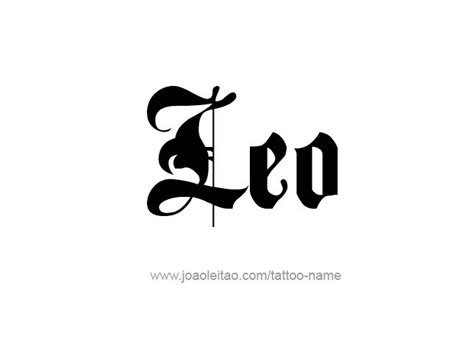 zodiac tattoo fonts leo horoscope name designs leo names and horoscopes