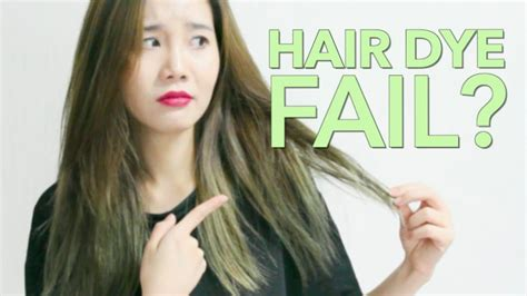 Missha Tinted Hair Coloring review style hair coloring in khaki brown