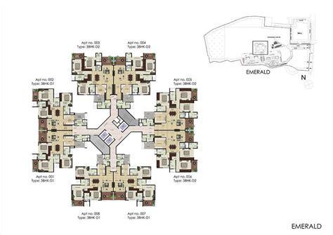 emerald park exclusive apartments floor plan view shapoorji pallonji parkwest 2 3 bedroom apartments bangalore