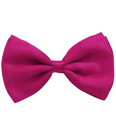 tiekart stylish magenta bow tie buy at low price