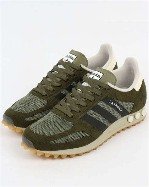 adidas la trainer og adidas la trainer og st major green black trainers mens