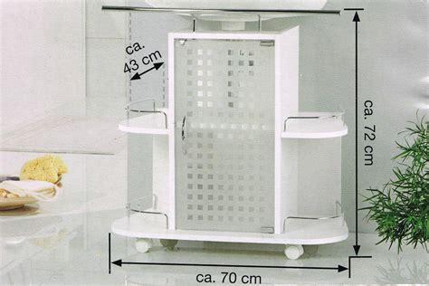 Badezimmer Unterschrank Mit Rollen by Waschbeckenunterschrank Mit Handtuchhalter Eckventil