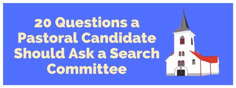 Can You Ask A Applicant If They A Criminal Record 20 Questions A Pastoral Candidate Should Ask A Search Committee The Pastor S Helper