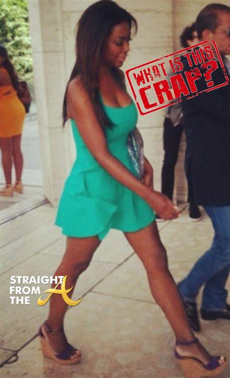 porsha stewart hair line kopycat kenya moore strikes again targets porsha stewart
