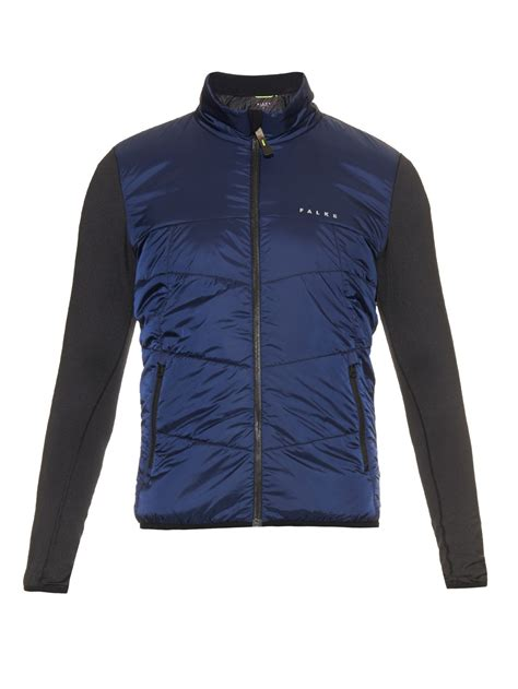 Lightweight Quilted Jackets by Falke Lightweight Quilted Performance Jacket In Blue For Lyst