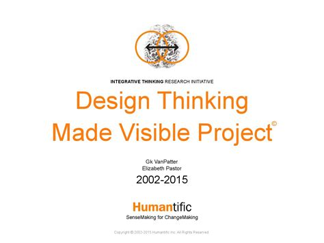 design is thinking made visible design thinking made visible project by humantific issuu