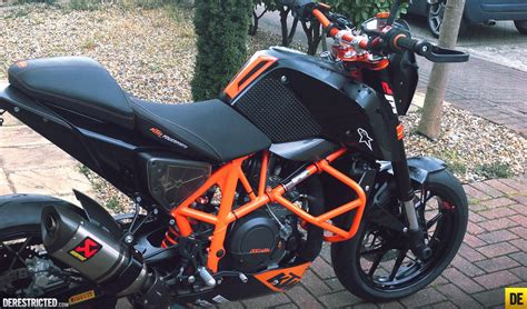 Ktm Duke 690 Black Russ S Black And Orange Ktm 690 Duke Derestricted