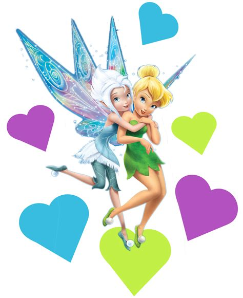disney fairies tinkerbell and periwinkle tinkerbell and periwinkle movable toy box wall stickers