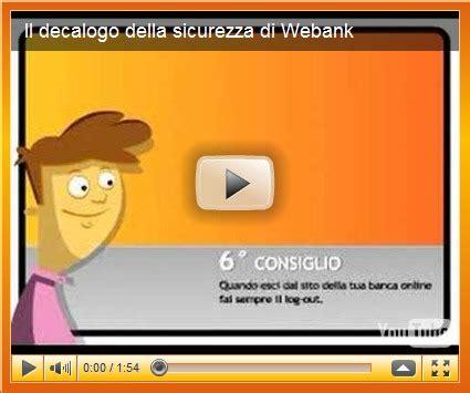 banche gruppo bipiemme banche italiane il decalogo della sicurezza di webank