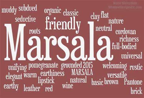 marsala pantone 2015 color year in interior design