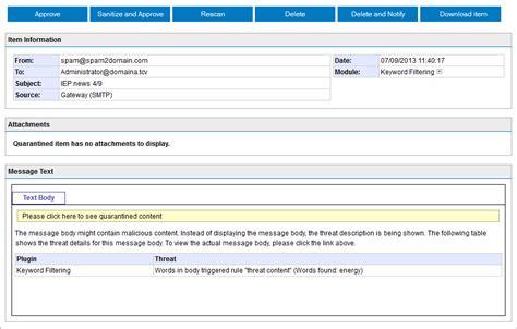 email quarantine quarantined email report in access reportz80 web fc2 com