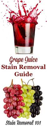 Removing Red Wine From Upholstery How To Remove Grape Juice Stains