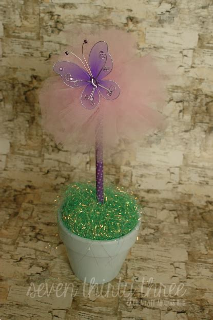 tulle topiary diy tulle topiaries inspiration made simple