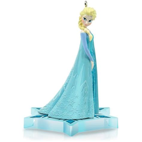 elsa keepsake ornament from hallmark frozen photo