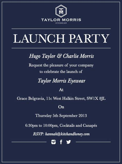 Invitation Letter To Launch A Product Launch Invitation Eventspirations Shops The O Jays And Running
