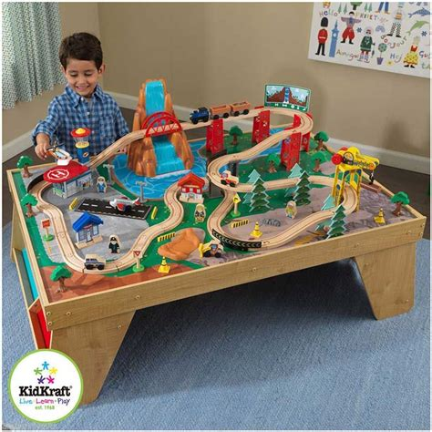 kidkraft waterfall set and table kidkraft waterfall junction set and table learn