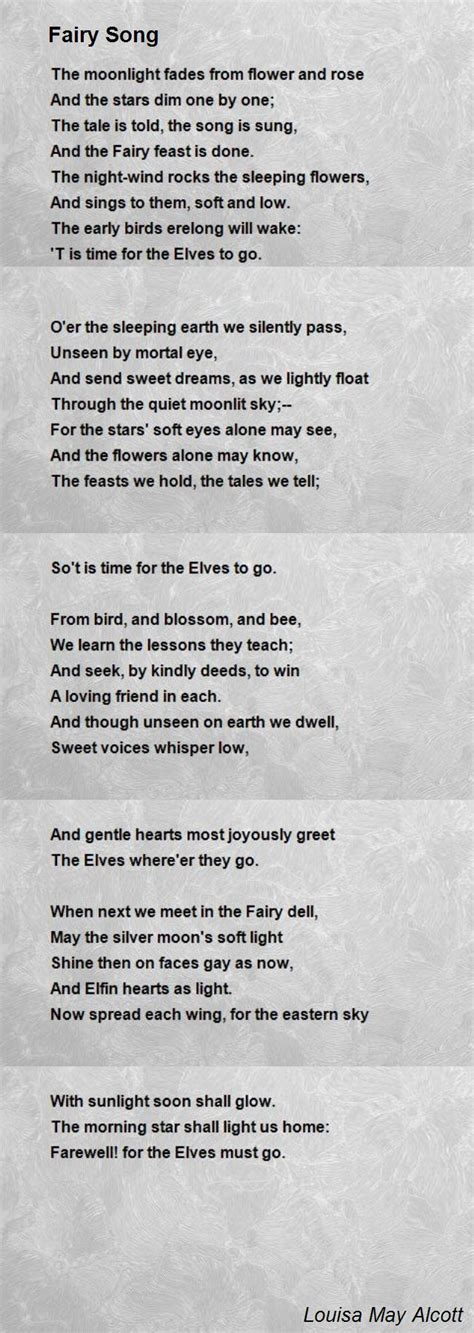 song poem song poem by louisa may alcott poem