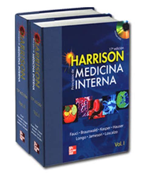 medicina interna harrison medicina medicina interna harrison 17 ed