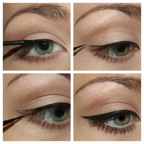 Tutorial Eyeliner Simple | simple eyeliner tutorial beauty pinterest simple