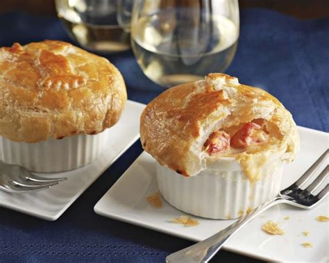seafood pot pie barefoot contessa lobster pot pies set of 4 williams sonoma
