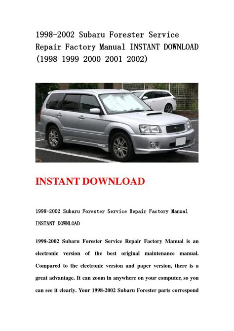 service repair manual free download 2000 subaru forester transmission control service manual service repair manual free download 2000 subaru forester transmission control