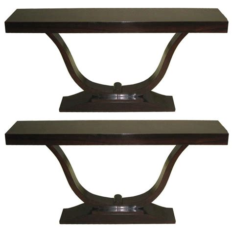 Deco Sofa Table Two Deco Sofa Tables Consoles For Sale At 1stdibs