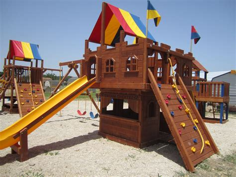 rainbow play systems wooden swing sets rainbow play systems swing sets images