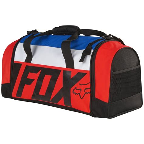 fox motocross gear bags 2017 fox mx 180 duffel gear bag creo orange