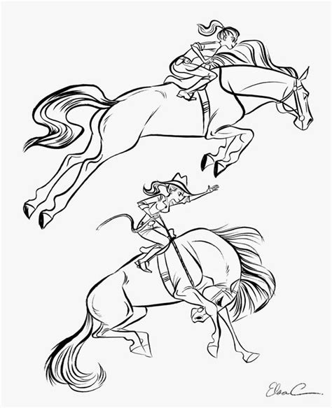elsa horse coloring pages 60 best images about color horses competition on