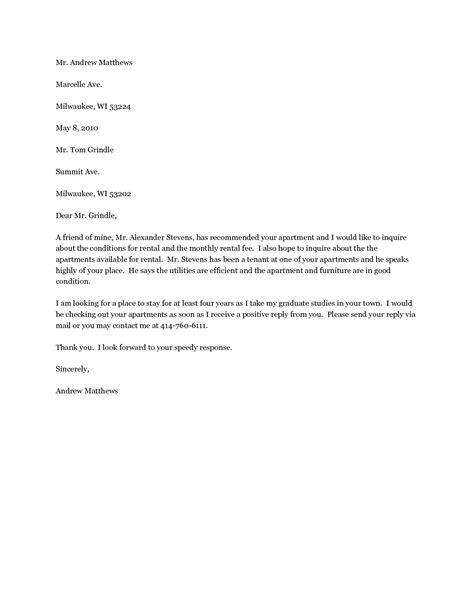 Tenant Reference Letter For A Friend Doc 8111009 Exle Of A Reference Letter For Tenant Sle Reference Letter Bizdoska