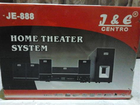 Home Theater Centro Je 888 home theater and karaoke system je centro 888 speaker subwoofer larismu