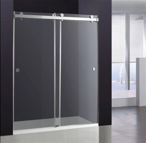 60 Inch Glass Shower Doors Sliding Glass Shower Door Broadway Vanities