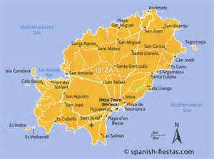 Ibiza Spain Map by Gallery For Gt Ibiza Spain Map