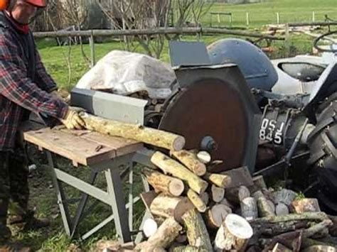 tractor saw bench for sale ferguson te20 cordwood sawbench a le 19 youtube