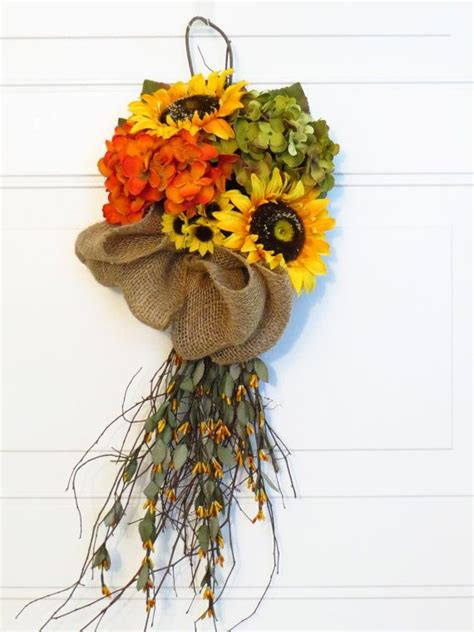 autumn door swags 17 best ideas about fall swags on fall wreaths
