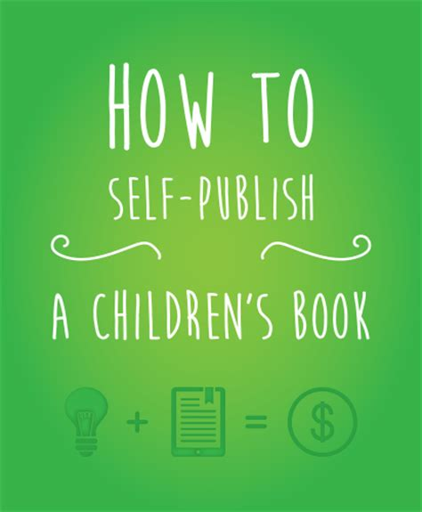 how to self publish a children s book the crafty designer