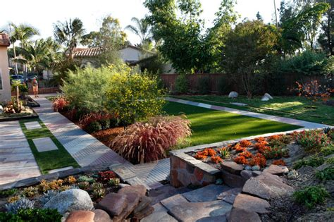 triyae low maintenance backyard landscape design
