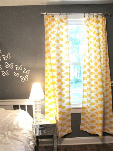 grey and yellow bedroom curtains classy and sassy mustard yellow curtains