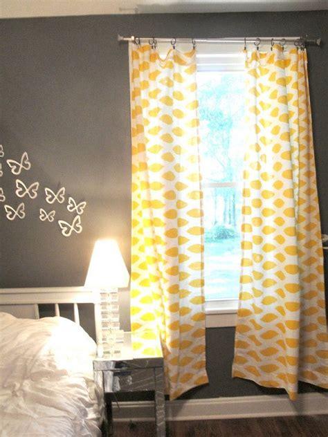 grey and yellow drapes classy and sassy mustard yellow curtains