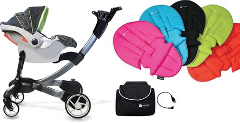 4moms Origami Accessories - highest tech stroller right now 4moms origami stroller