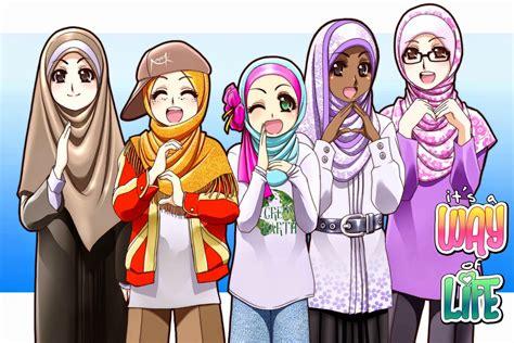 foto kartun pasangan muslim romantis kumpulan gambar kartun holidays oo
