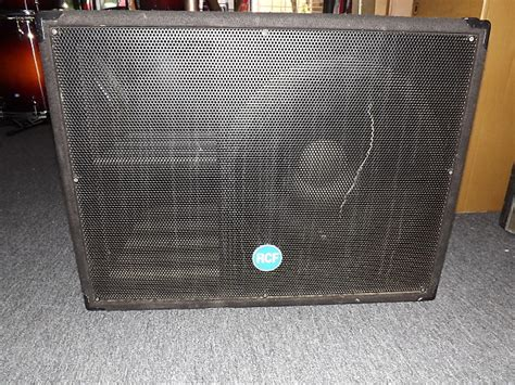 Speaker Acr C 1018 W rcf esw1018 blown speaker reverb
