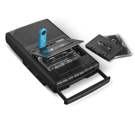 cassette converter cassette to digital converter and player hammacher schlemmer