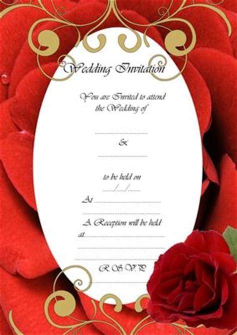Fill In Wedding Invitations