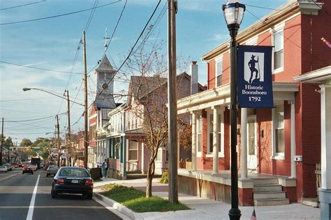 small towns usa small town usa boonsboro md photograph by bob gardner