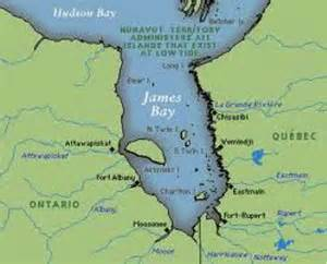 where is bay on a map of canada creeinfo location environment and population
